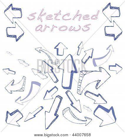 Arrows Sketched
