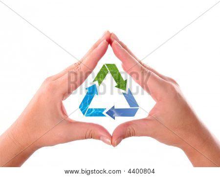 Recicl o símbolo de seta