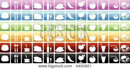 Food & Beverages Icons