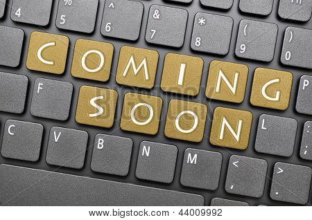 Coming soon on keyboard