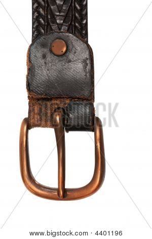 Belt With Copper Buckle