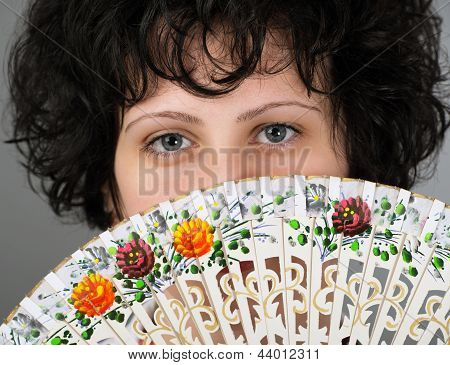 Woman With A Spanish Fan Trditional