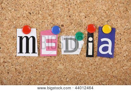 Media Paper Collage