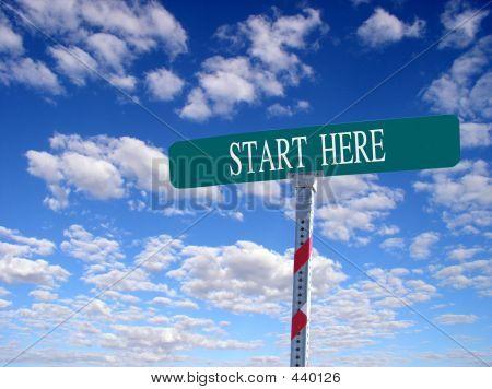 Starten Sie hier
