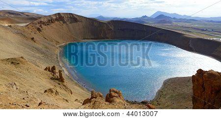 Krafla volcano. Northern Iceland