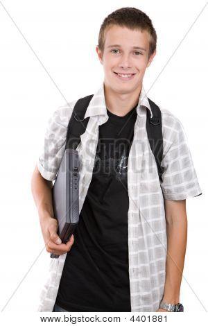 Teenager Preparing To School
