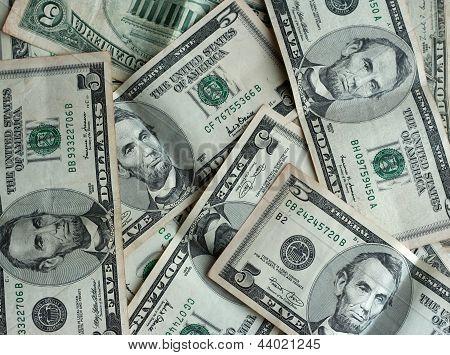 Five Dollars Banknotes