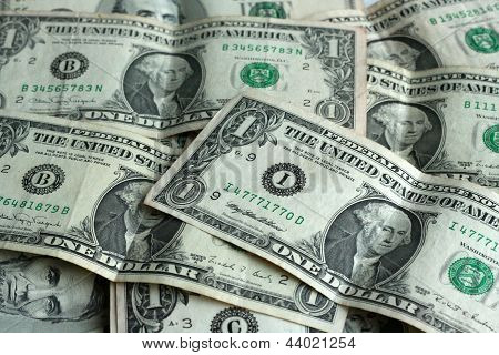 Pack Of Dollar Banknotes