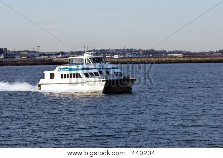 Ferry,  Boston Harbor