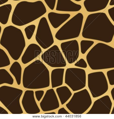 Giraffe Spotted Background