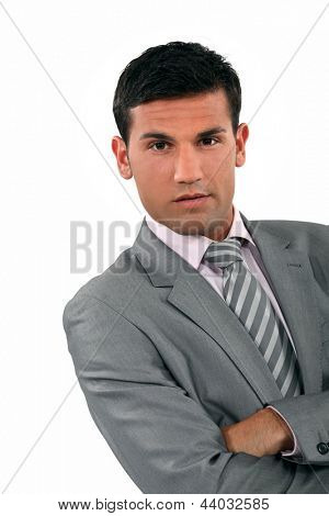 Arrogant businessman