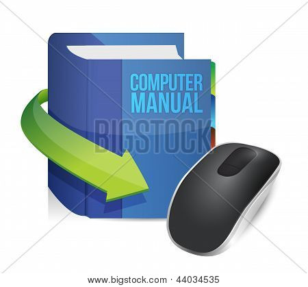 Computer Manual And Wireless Computer Mouse