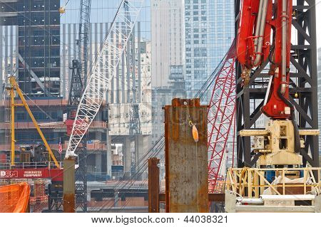 World Trade Center Construction Site, New York