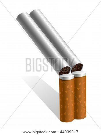 Cigarettes shotgun