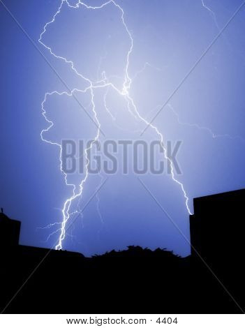 City Lightning Strike
