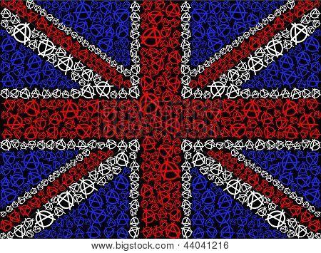 British flag symbol of anarchy