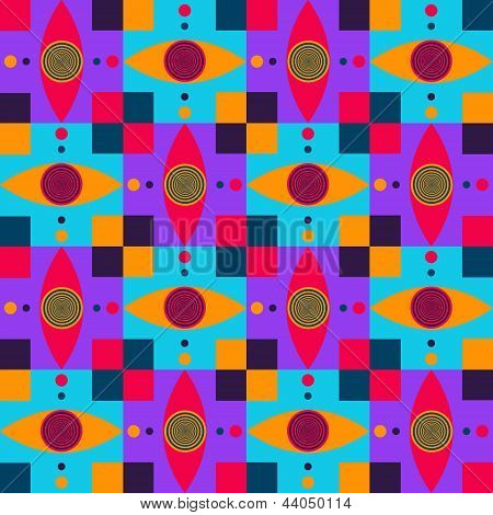 dizzy eyes pattern