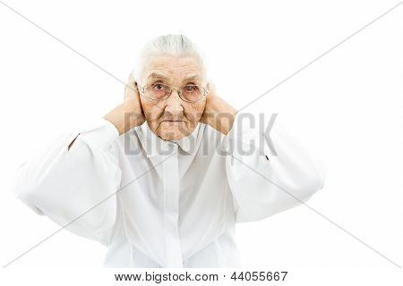 Grandmother Doesn't Want To Hear Anything