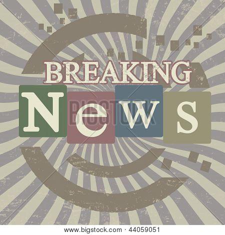 Breaking News Screen