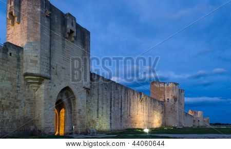 Aigues-mortes At Twilight
