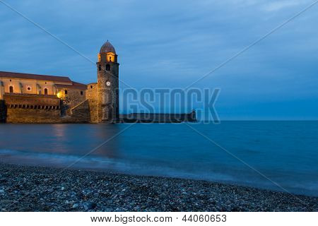 Twilight In Collioure