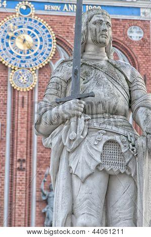 Riga Statue Of Roland