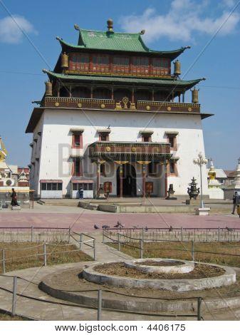 Janraisig Datsan At The Gandan Monastery