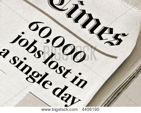 Widespread Job Losses