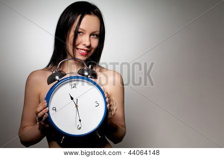 Showing The Time