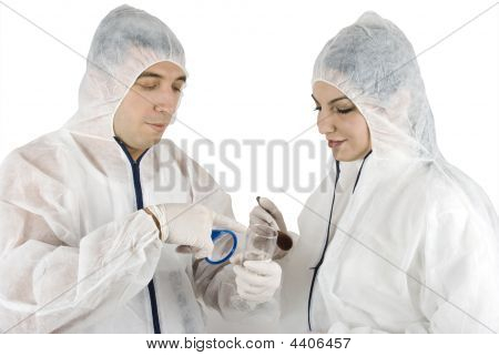 Crime Scene -criminologists Working