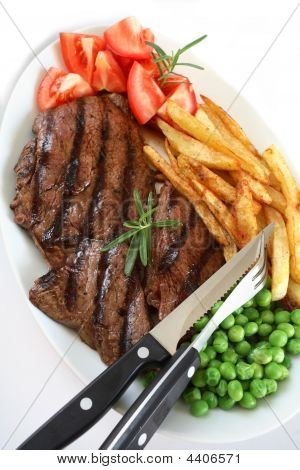 Grilled Steak Dinner