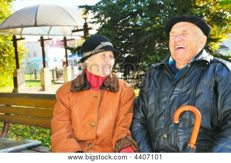 Old Man With Old Woman