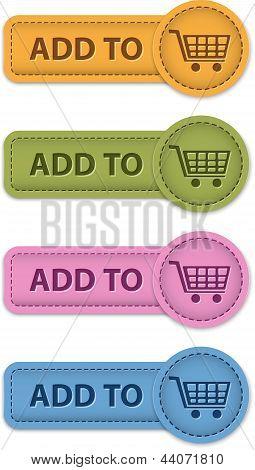 Shopping Buttons