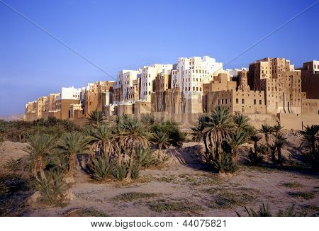 Shibam Also Called Manhattan Of Yemen