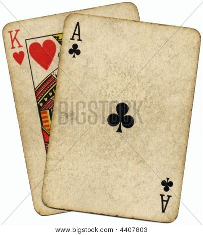 Ace King Known As The Big Slick Poker Hand.