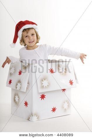 Santa In A Box