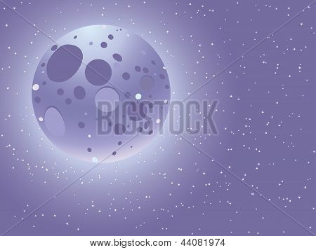 Cartoon Starry Sky