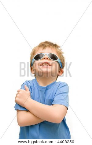 Cool Kid With Sunglasses