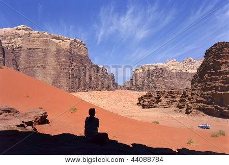 Four Wheel Drive, Wadi Rum Desert, Jordan