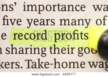 Record Profits