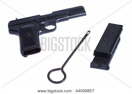 Wwii Soviet Handgun Tt (tula, Tokarev)