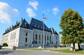 Ottawa, CANADA - SEP 8: Supreme Court of Canada on street on September 8, 2012 in Ottawa, Canada. It