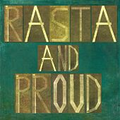 foto of rasta  - Earthy background image and design element depicting the words  - JPG