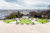 Paris From Montmartre Hill