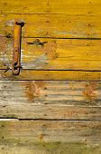 image of barn house  - old wooden farm barn door background and texture - JPG