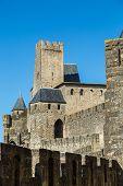 La Cit???, Carcassonne poster