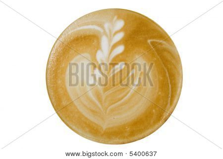 Coffee Cappuccino, Top View