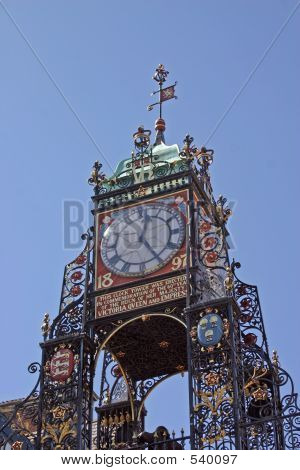 The Clock In Chester