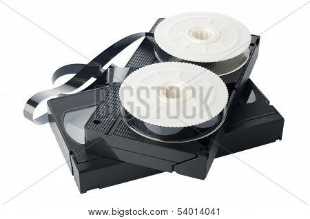 Two Videotapes And Reel