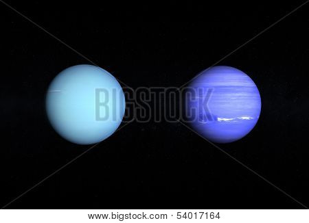 Planets Uranus And Neptune